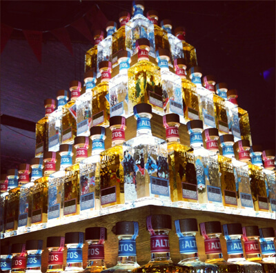 tequila piramide
