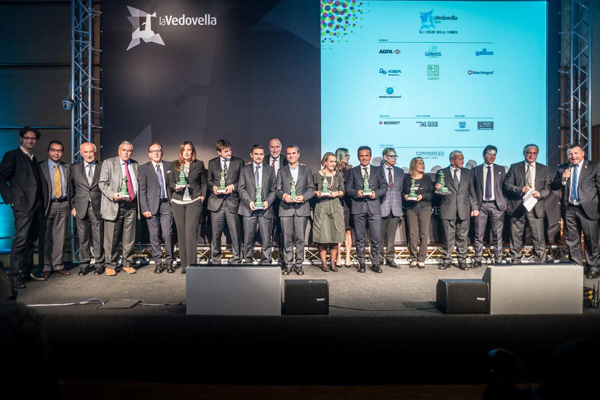 La Vedovella 2014 - i vincitori 2014 e il Club delle Eccellenze
