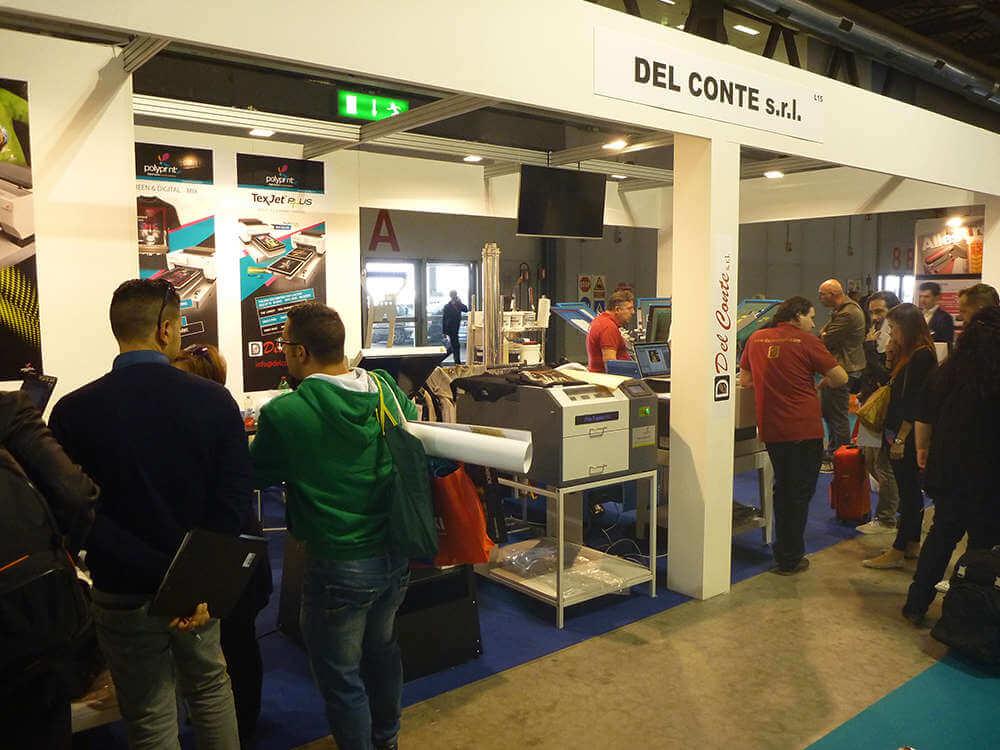 Viscom Italia 2015 - stand Del Conte