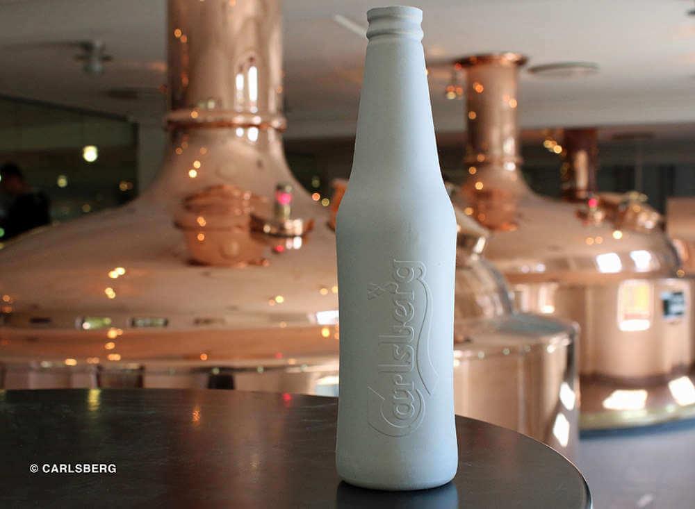 Green Fiber Bottle Prototype - Carlsberg Group