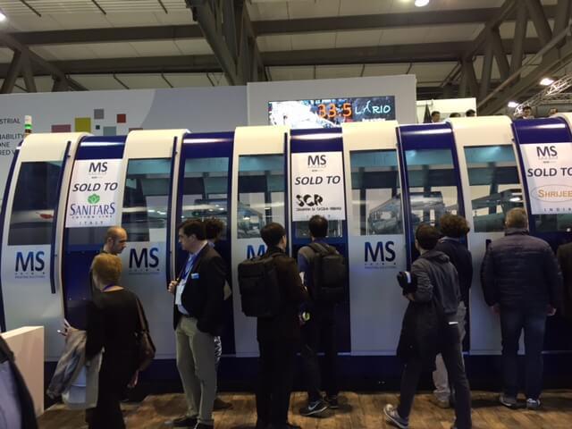 ITMA2015 - MS Lario
