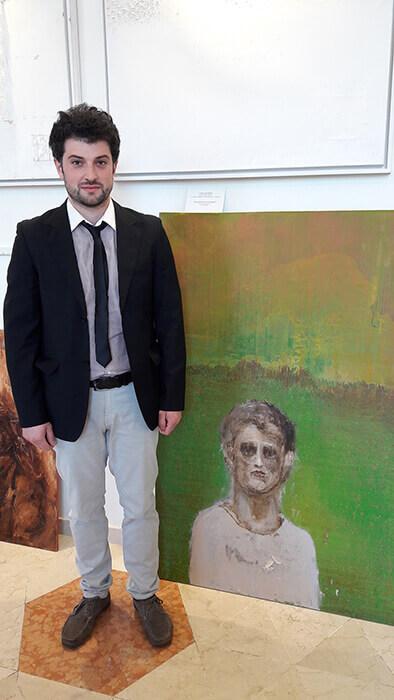 Paolo Romani_Autoritratto nel paesaggio